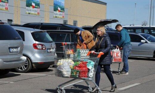 Польша сообщила о рекордной сумме, потраченной в местных магазинах гражданами Литвы