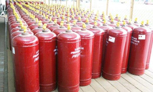 Латвийцам разрешили пользоваться советскими газовыми баллонами