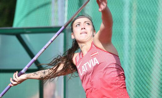 Серебро молодежного чемпионата Европы — у латвийской копьеметательницы
