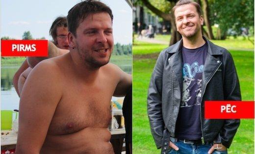 Režisors Ģirts Šolis piedzīvo iespaidīgas pārmaiņas, nometot 18 kilogramus liekā svara