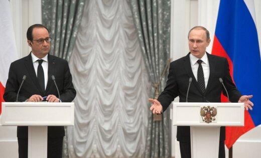 Очем договорились Путин иОлланд