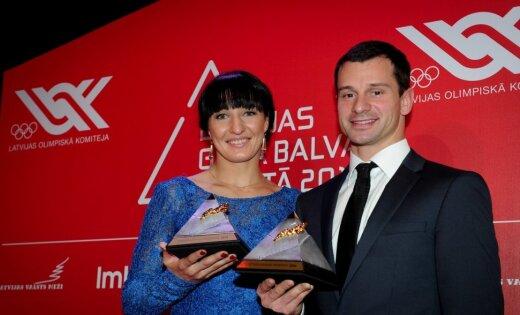 Лучшие спортсмены года в Латвии — Мартин Дукурс и Анастасия Григорьева