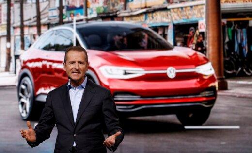 VW nomaina vadītāju un paziņo par jaunu struktūru