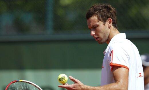 Gulbis ATP rangā zaudējis vēl desmit pozīcijas