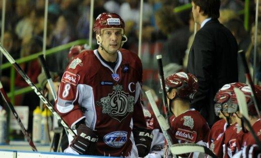 Rīgas 'Dinamo' komandai izbraukuma spēļu sērijā palīdzēs arī Ozoliņš un Ņiživijs