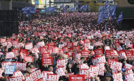 Наакцию протеста вСеуле 12ноября может выйти млн. человек