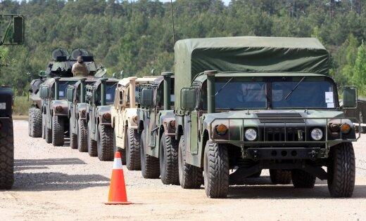 Ventspils ostā ienāks jau otrais prāmis no Vācijas ar ASV militāro tehniku