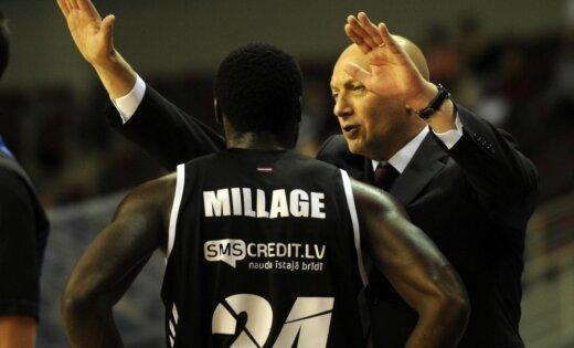 'VEF Rīga' pēdējā Eiropas kausa pirmā posma spēlē piekāpjas 'Himki' komandai