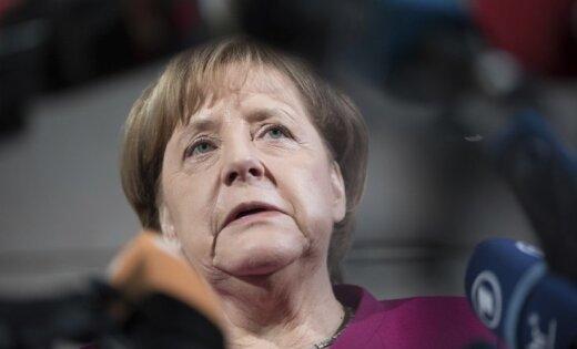 Merkele skeptiska pret kompensāciju izmaksāšanu uzņēmumiem, kas tirgojas ar Irānu
