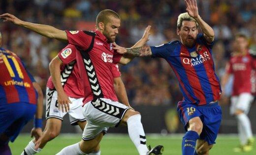«Барселона» насвоем поле проиграла «Алавесу»— Сенсация ЛаЛиги