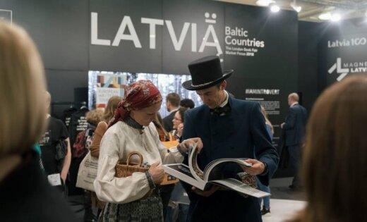 Latvija Londonas grāmatu tirgū: introvertās nācijas ekstravertie panākumi