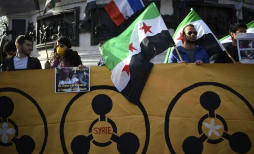 США выпустили десятки ракет поавиабазе правительственной армии Сирии