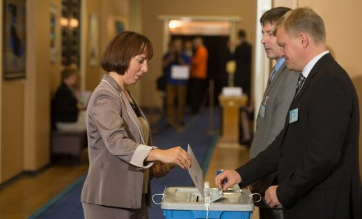 Эстония сегодня будет выбирать нового президента