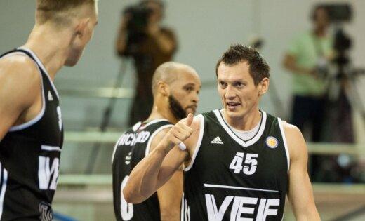 «Цмокi-Мiнск» потерпели поражение вЕдиной Лиге ВТБ отлатвийского «ВЭФа»— Баскетбол