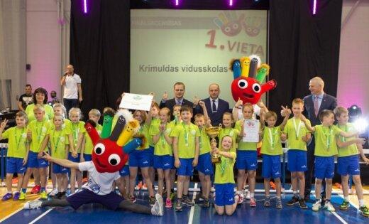 'Sporto visa klase' otrajā sezonā uzvar Krimuldas vidusskola