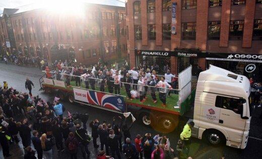 Самозванцы приняли олимпийские почести встолице Англии