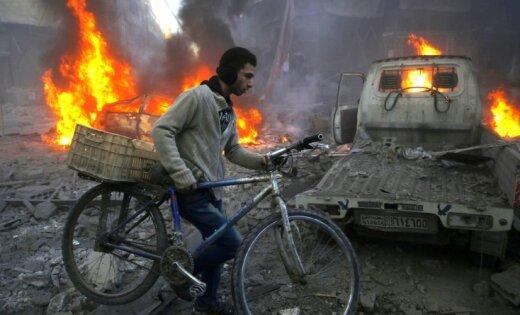 При израильском авианалете на Сирию погиб один из лидеров'Хизбаллы
