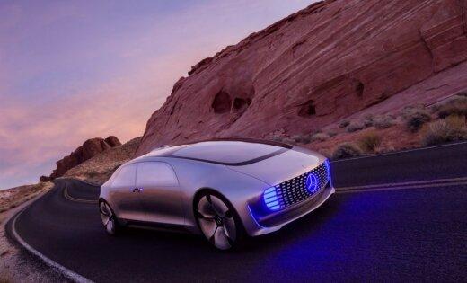 Mercedes-Benz показал, как будут выглядеть автомобили через 15 лет