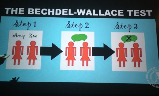the bechdel wallace test The bechdel-wallace test, more commonly known as the bechdel test, asks three things of a given piece of media being evaluated are there two women present (preferably both are named characters.