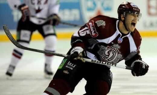 Rīgas 'Dinamo' uzvar Gagarina kausa ieguvēju Maskavas 'Dinamo'