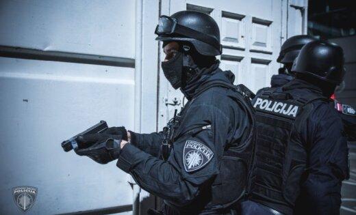 Кенгарагс: бойцы спецподразделения задержали мужчину с пневматическим оружием