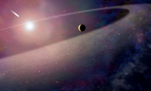 70 тыс. лет назад пролетающая звезда мимоходом взбудоражила облако Оорта