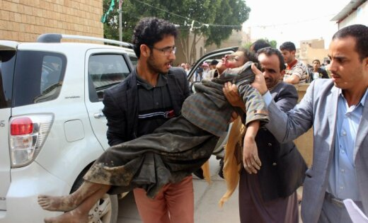 Pēc gaisa uzbrukumiem Jemenā bojā gājuši 29 bērni