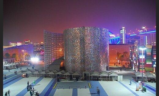 'Aizķērusies' naudas par Latvijas 'World Expo 2010' paviljonu ieskaitīšana
