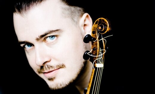 Liepājas Zvaigžņu festivālā uzstāsies baroka vijoles virtuozs, kontrtenors Dmitrijs Sinkovskis