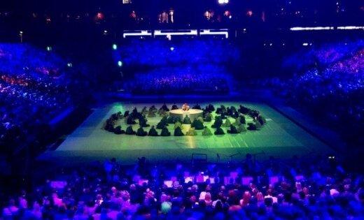 Fotogalerija: Kauņas jaunās basketbola halles atklāšana
