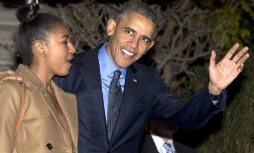 Барак Обама объявил, что дочь высмеяла его вSnapchat