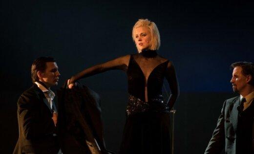 Foto: Ieskats Ditas Lūriņas dzimšanas dienas koncertstāstā 'Tango bez asinīm'