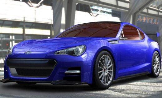 Subaru знакомит с заднеприводным спорткупе BRZ