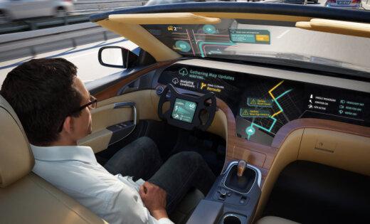 Bezpilota auto attīstība: LG nolemj sadarboties ar 'HERE Technologies'