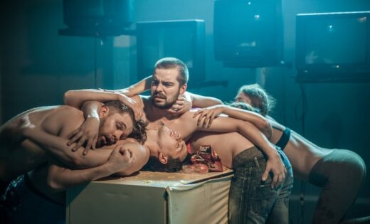 Foto: Ingas Tropas 'Dvēseļu uteņa' pirmizrāde 'Dirty Deal Teatro'