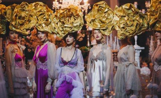 Zīmols 'Amoralle' ar maģiskiem foto atklāj kāzu sezonu