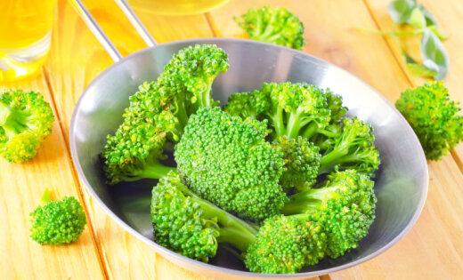 Brokoļu sautējums ar malto gaļu