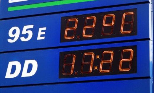 Aculiecinieks: Benzīnu 95E tagad varēs iegādāties tikai 22 grādos
