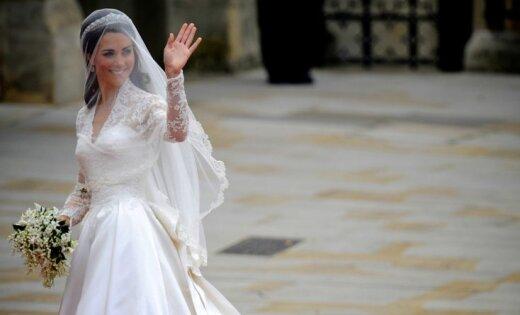 ФОТО: Свадебное платье Кейт Миддлтон пошло в народ
