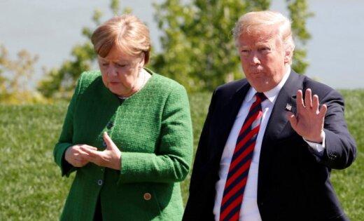 Tramps radījis 'pasaules mēroga vakuumu', secina Vācijas ministrs