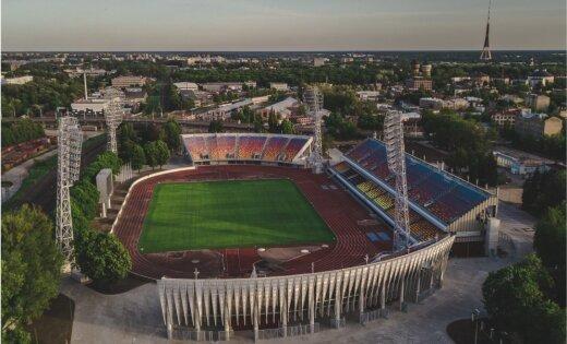 """Начинается второй этап масштабной реконструкции рижского стадиона """"Даугава"""""""