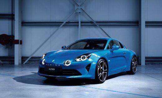 Franču atjaunotā 'Alpine' marka parādījusi savu pirmo auto