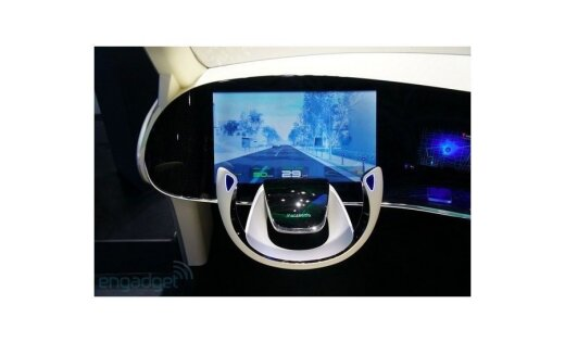 Panasonic показал автомобильную приборную панель 2018 года
