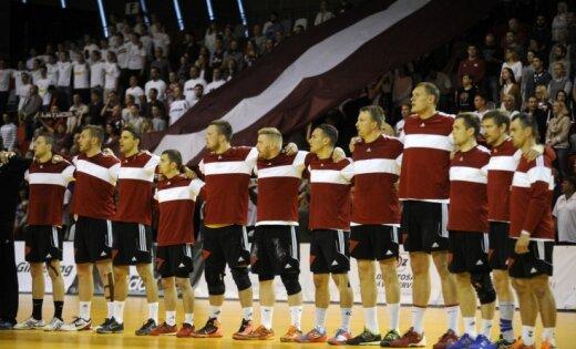 Сборная Латвии на Кубке Рижской думы взяла верх над белорусами