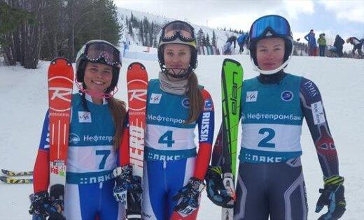 Южноуральская горнолыжница стала чемпионкой РФ вслаломе