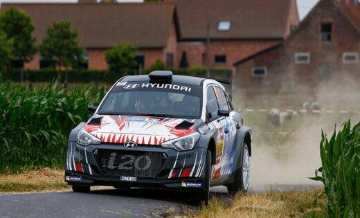 Rallijkrosa čempionātā pirmo reizi būs apskatāms sporta auto 'Hyundai i20 R5'