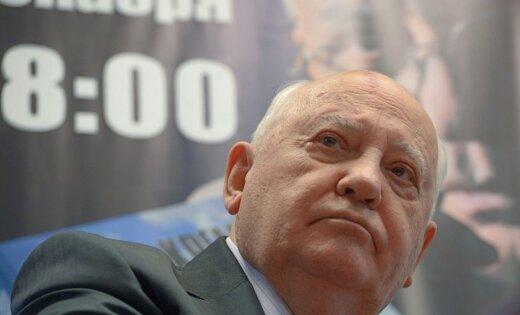 Горбачев обратился с просьбой к Путину и Трампу