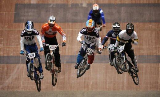 Štrombergam ceturtā vieta pasaules čempionāta BMX individuālo braucienu superfinālā