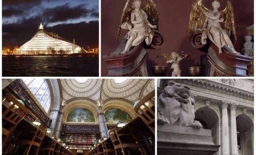 Septiņas publiskās bibliotēkas, kas vienlaikus ir arhitektūras meistardarbi
