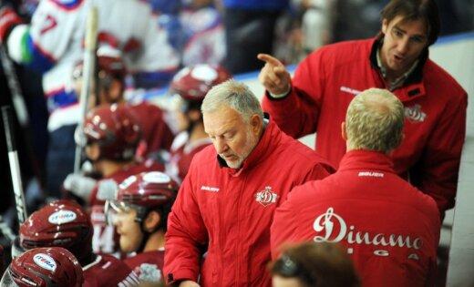Bērziņš un Pelšs nespēlēs Rīgas 'Dinamo'